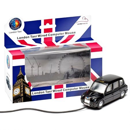 London Taxi TX4 Wired Computer Mouse – Black Cab